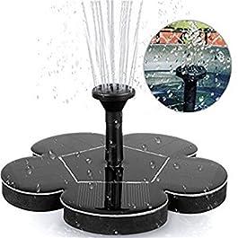 Bulary Solar Power Water Fountain Garden Floating Pump Pool Paesaggio Fontane Pompa solare Garden Pond Watering Kit