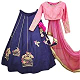 Classyfashion Women's Georgette Lehenga ...