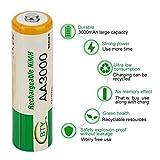12 Piezas AA LR06 3000mAh 1.2V batería NI-MH Cell RC BTY batería de reemplazo Mini Profesional...