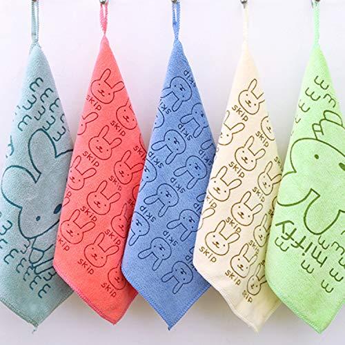 10k Faser (Dickes Saugfähiges Handtuch Aus Superfeinen Fasern, Weich Und Fusselfrei, Kinderhandtuch, Küchentuch 30 * 30 Cm, 10Er-Pack)