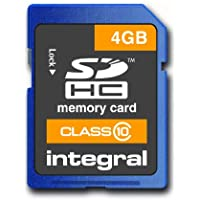 Integral INSDH4G10V1 Class 10 SDHC Secure Digital class_10
