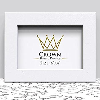 Crown White Photo Frame For 6x4 Inches 152 X 102 Cm Picture