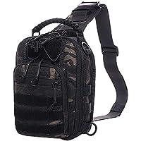ANTARCTICA Tactical Bag Pack Military Range Shoulder Backpack Range Bag 1050D (Dark Camouflage)