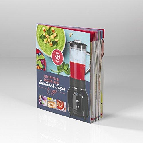 Gourmet Maxx 00055libro de recetas para Nutrition Mixer Pro, Deliciosos Recetas Ideas