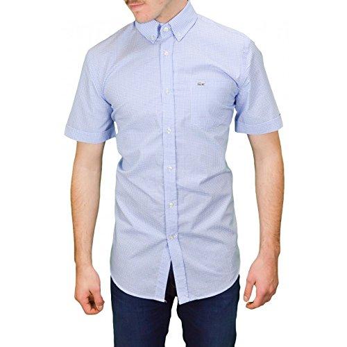 Lacoste -  Camicia Casual  - Uomo blu 48