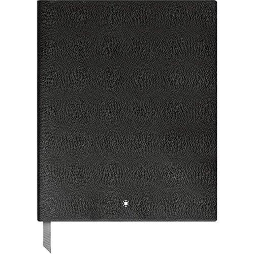 Montblanc Sketchbook 116931 Fine Stationery #149 - Leder Notizbuch A4 liniert mit Softcover - Farbe: Black - 272 Seiten