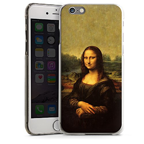 Apple iPhone 5s Housse Étui Protection Coque Mona Lisa Tableau Art CasDur transparent