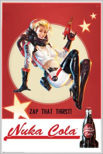 Poster Fallout 4 - Nuka Cola - preiswertes Plakat, XXL Wandposter