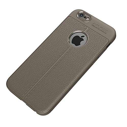 iPhone SE Coque,Valenth Coque Slim Antichoc pour iPhone SE / 5S gris
