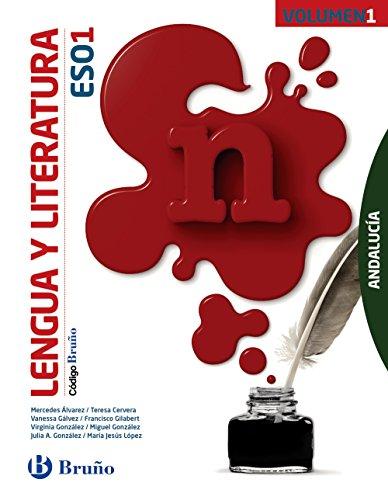 Código Bruño Lengua y Literatura 1 ESO Andalucía - 3 volúmenes - 9788469612644