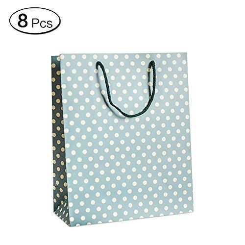 Jia HU 6pcs Peach Blossom mit Geschenkbeutel mit Griffe Seil-Taschen, für Hochzeiten M