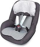 Priebes Sitzauflage Felix für Autositz Gruppe 1, Design:stars grau