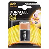 Duracell - Pile Alcaline - 9V x 1 - Plus Power (6LR61)