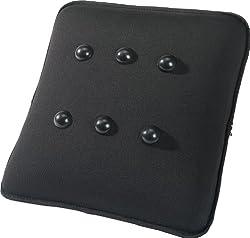 AEG 520566 Massagekissen MK 5566, mit Massage-Noppen, Batteriebetrieb, Automatik An/Aus, Größe 30 x 30 cm