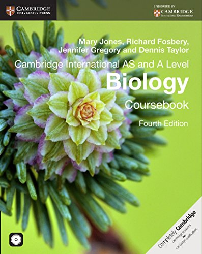 Cambridge international as and a level biology. Per le Scuole superiori. Con CD-ROM. Con espansione online (Cambridge International Examinations) por Mary Jones