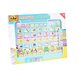 #9: The Flyer's Bay Kids ABC learning Pad ( With touch sounds, Music, Maths Quiz, etc) (Multi)
