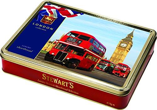 Collezione di London Shortbread da 400 grammi - Westminster Buses
