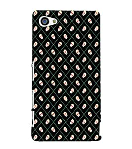 Skull Pattern 3D Hard Polycarbonate Designer Back Case Cover for Sony Xperia Z5 Compact :: Sony Xperia Z5 Mini