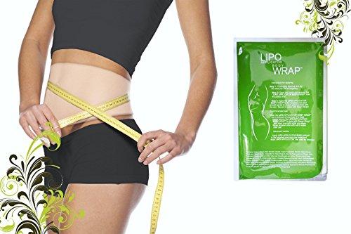 Ultime Body Applicateur Lipo Wrap . 6 Skinny Wraps pour la perte de pouce , le ton et le remodelage , il travaille pour la cellulite et les vergetures réduction
