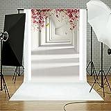 Oyedens 90*150cm Fotohintergrund Fotografie Stoffhintergrund Stoff Hintergrund Mit Weißwandtafel und LOVE Thema (Mehrfarben_#6)