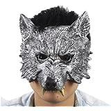 Hombres lobo! M?scara del lobo intimidaci?n de disfraces de Navidad disfraz fiesta evento de la noche de luna llena (jap?n importaci?n)