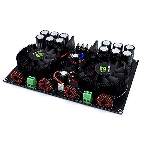 KKmoon Módulo digital de alta potencia XH-M258 estéreo TDA8954TH Dual chip 2 * 420W placa de amplificador de dos canales