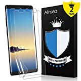 Alinsea Galaxy Note 8 Screen Protector, Galaxy Note8 Screen Protector Not Glass [Case Friendly] [Full Coverage][Bubble-Free] [No Lifted Edges] Film for Samsung Galaxy Note8 [2-Pack]
