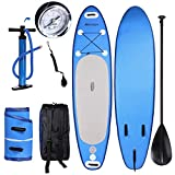 WeSkate 10' Inflatable Paddle Board, Stand Up Paddle Board, Inflatable SUP Board, iSUP