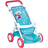 Unbekannt Frozen Puppenwagen mit waschbarem Stoffbezug, für Puppen bis 42 cm - Frozen Puppen Baby Kinder Wagen Buggy Jogger Puppenzubehör Puppe Die Eiskönigin