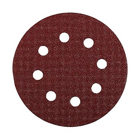 KWB Quick-Stick Schleifscheiben, Holz und Metall, selbsthaftend, Durchmesser 125 mm, gelocht, 4919-04