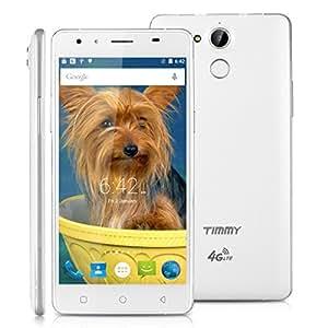 """Timmy P7000 Pro Smartphone 4G 5.5 """"Pouces HD LTE Mobile Tactile Téléphone Portable Android 5.1 ID MT6735P Quad Core 2 Go RAM + 16GB ROM Smart Gesture OTG Double Sim"""