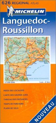 Atlas routiers : Languedoc-Roussillon, N°20626