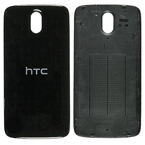 Original HTC Akkudeckel black / schwarz für HTC Desire 526 / 526G (Akkufachdeckel, Batterieabdeckung, Rückseite, Back-Cover) - (Htc Black)