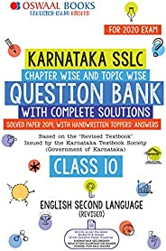 Oswaal Karnataka SSLC Question Bank Class 10 English IInd Language Book Chapterwise & Topicwise (For March