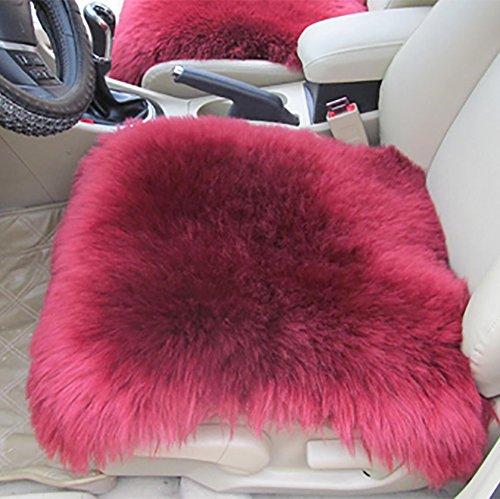 Ruirui Set universale completo Deluxe pecore pelle lana auto copertura sedia dell'imbottitura del sedile ,