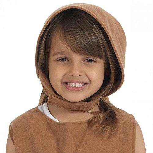 Edwardian Girls fancy dress Bonnet (Charlie Brown Kostüm Für Kinder)