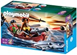 PLAYMOBIL 5137 - Piraten-Ruderboot mit Hammerhai