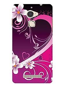 TREECASE Designer Printed soft silicone Back Case Cover For Panasonic Eluga Mark