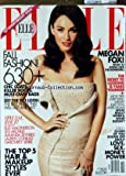 ELLE USA du 01/10/2010 - MEGAN FOX - THE SECRET TO LOOKING 15 YEARS YOUNGER - FALL FASHION - SPECIAL ISSUE / ELLE MACPHERSON - LEA MICHELE - AMANDA SEYFRIED - LAUREN CONRAD - GABOUREY SIDIBE - THE TOP 5 HAIR AND MAKEUP STYLES EVER