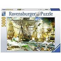 Ravensburger-Erwachsenenpuzzle-13969-Ravensburger-13969-Schlacht-auf-hoher-See-Erwachsenenpuzzle