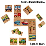 Pigloo 28 Pieces Wooden Domino Education...