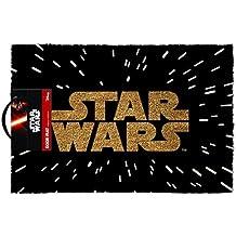 Hombres Mujeres Hombre Mujer Ladies Lady Gents él su–Top venta el lado oscuro–Star Wars puerta piso alfombra de bienvenida–perfecta para secreto Santa regalo de cumpleaños Navidad regalo de Navidad, cumpleaños, San Valentín, aniversario–1unidad