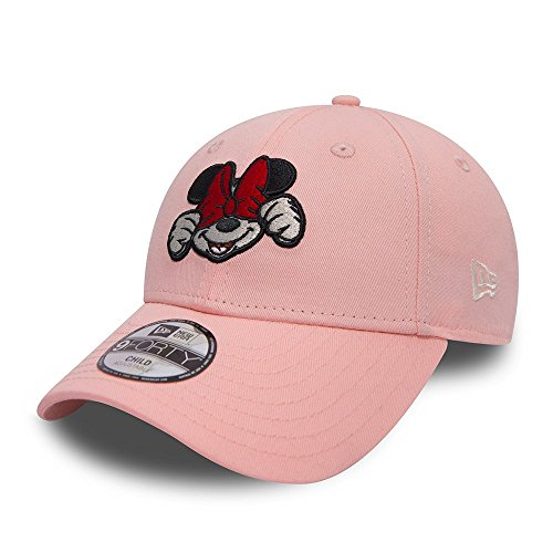 New Era Disney Xpress Minnie Mouse 9Forty Velcroback Cap Pink Toddler Kleinkind