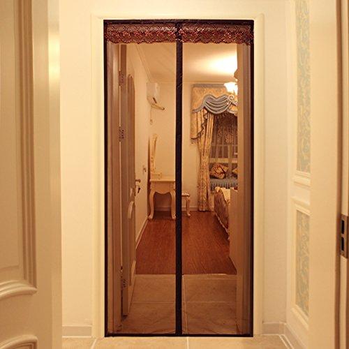 Velcro-magnetische weiche Schirmtür, Trennvorhang Moskito-sicherer Vorhang Breathable im Sommer Haushaltsschlafzimmerverschlüsselung,A_110x240cm