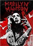 Poster 30 x 40 cm: Marilyn Manson von Nino Cammarata - Hochwertiger Kunstdruck, Kunstposter