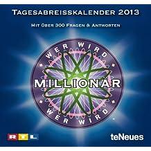 Wer wird Millionär 2013 Tagesabreißkalender