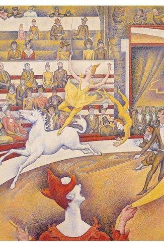 Puzzle Michèle Wilson - Puzzle en bois - Art maxi 24 pièces - Seurat : Le cirque
