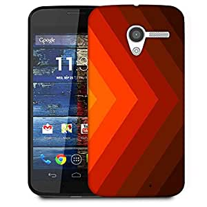 Snoogg Sunshine Anchor Verti 2433 Designer Protective Phone Back Case Cover For Moto X / Motorola X