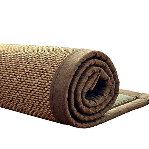 WXF Teppich Rechteckiger Teppich, japanische traditionelle Bambusteppiche aus Naturfasern, rutschfeste Teppiche und Bodenmatten für das Wohnzimmer und das Schlafzimmer