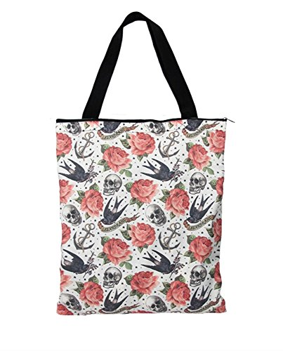 Liquor Brand - Shopper Tasche - Rose Tattoo